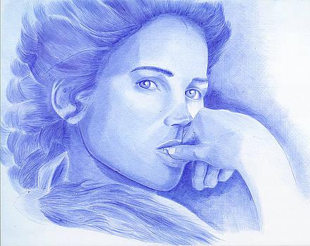 Julia Ormond by Oleg Kozelskiy
