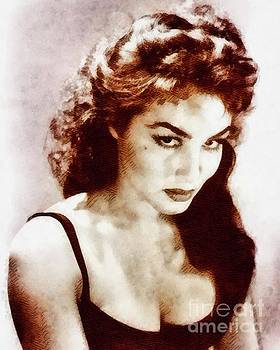 John Springfield - Julie Newmar, Actress