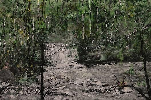 Julie's Waterfall by Joanna Deritis