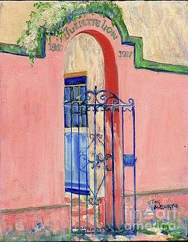 Juliette Low Garden Gate Savannah by Doris Blessington