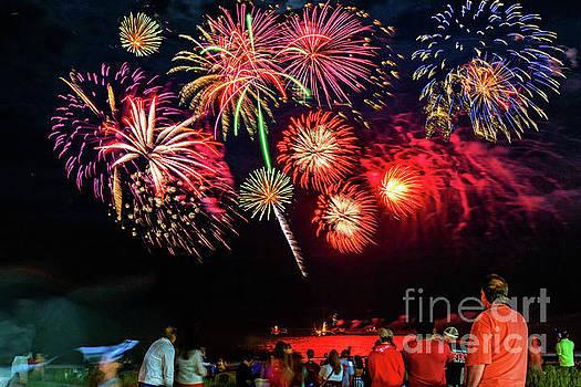 Nick Zelinsky - July 4th Fireworks at Ocean City New Jersey