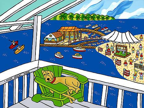 July 4th Snoozer - Cedar Key by Mike Segal