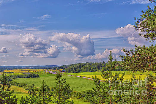 July countryside by Veikko Suikkanen