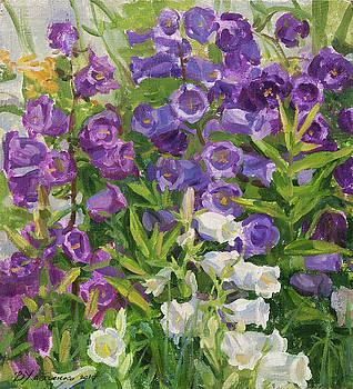 July garden by Victoria Kharchenko