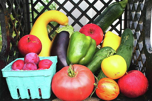 July Produce by Bethany Benike