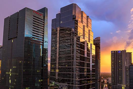Lynn Palmer - July Sunset Over Miami