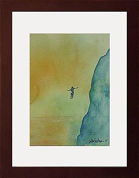 Jump and swim by Ismo Jokiaho