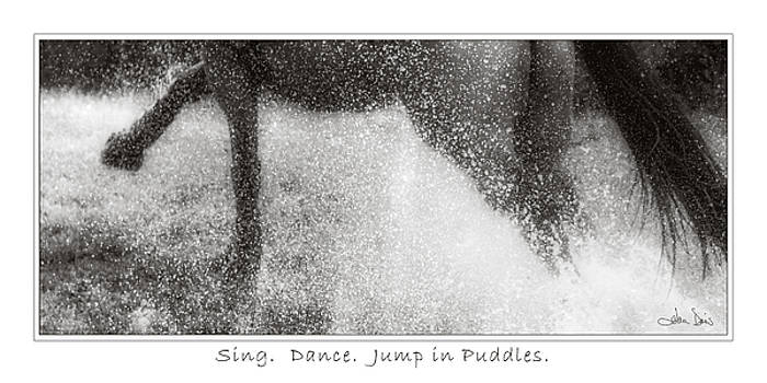 Jump In Puddles by Joan Davis