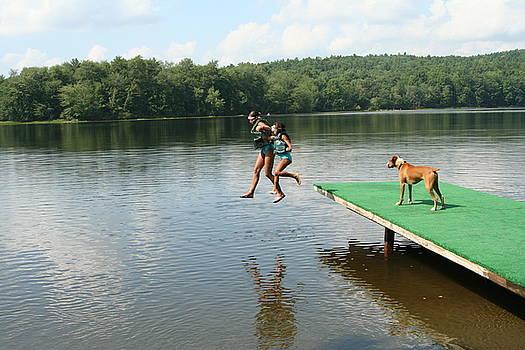 Jumpin Off The Dock by Wendy Munandi