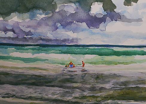 Jumping the waves 8-27-17 by Julianne Felton