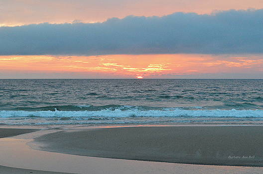 June 20 Nags Head Sunrise by Barbara Ann Bell