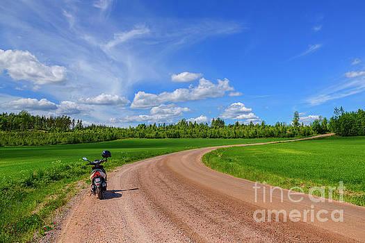 June Countryside 2 by Veikko Suikkanen