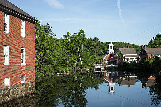 June Morning in Harrisville by New England Photographic