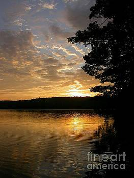 Sandra  Huston - June Sunrise in Maine