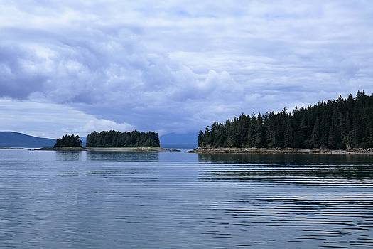 Juneau Coastline by Lawrence Birk