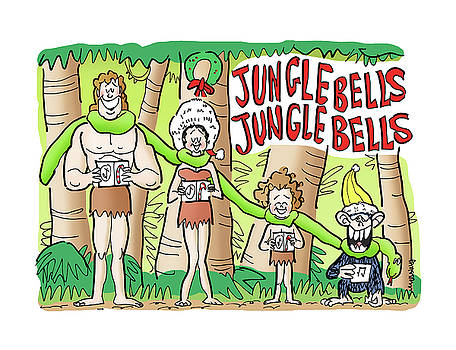 Jungle Bells by Mark Armstrong