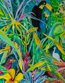 Jungle Toucan by Vickie Myers