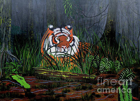 Jungle Cat by Myrna Walsh