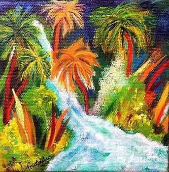 Jungle Falls by Elizabeth Fontaine-Barr