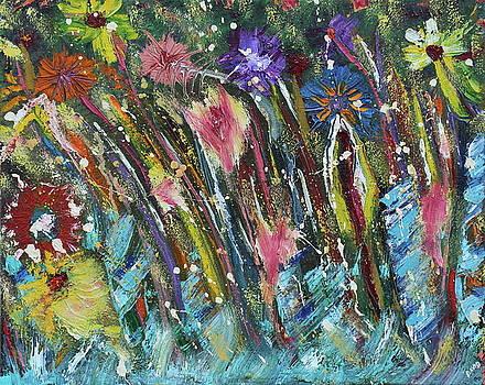 Jungle Flowers by David King Johnson