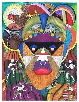 Jungle mask by Everna Taylor