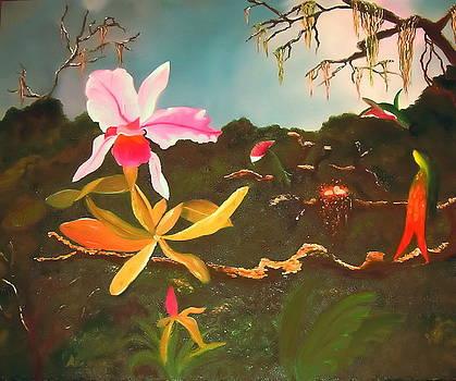 Jungle Orchid by Alanna Hug-McAnnally