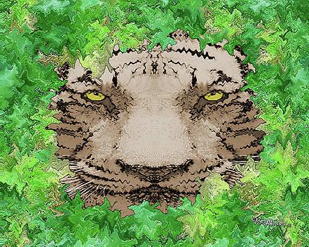 Jungle Tiger #165 by Barbara Tristan