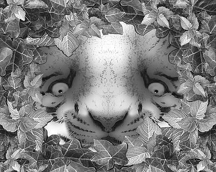 Jungle Tiger Cub #166 by Barbara Tristan