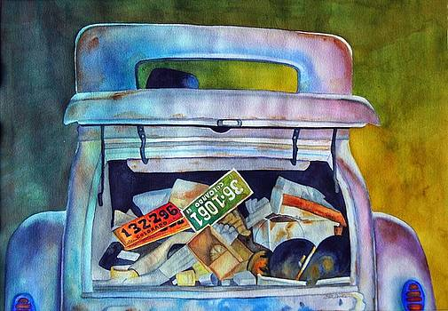 Junk In The Trunk by Gail Zavala