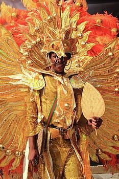 Junkanoo Dancer, Nassau Bahamas by Roupen  Baker