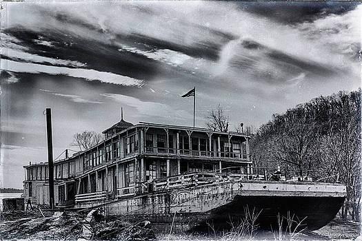 Junked Mississippi Showboat by Deb Henman
