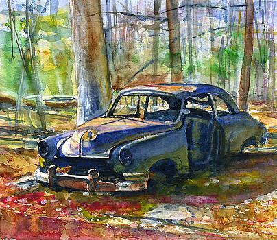 Junker at Olive Green Cabin by John D Benson