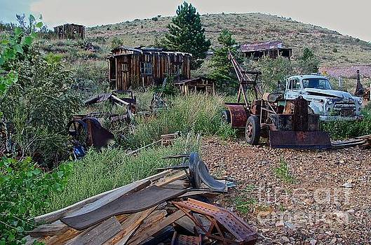 Antique Junkyard by Anthony Jones