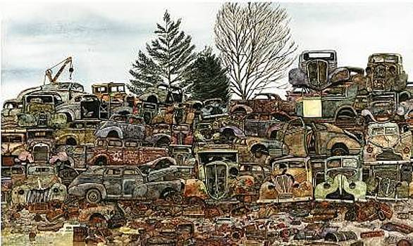 Junkyard No.1 by Ron  Morrison