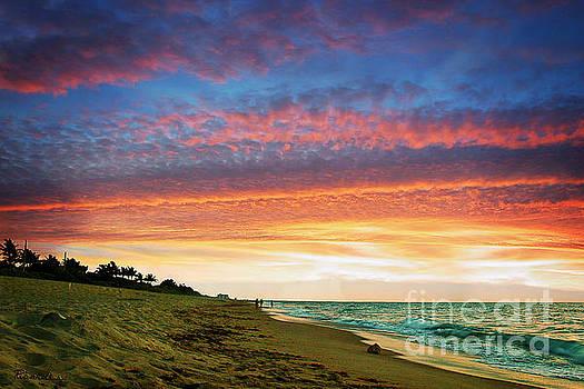 Ricardos Creations - Juno Beach Florida Sunrise Seascape D7