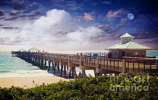 Ricardos Creations - Juno Beach Pier Treasure Coast Florida Seascape Dawn C5a