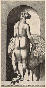 Giovanni Jacopo Caraglio - Juno standing in a niche