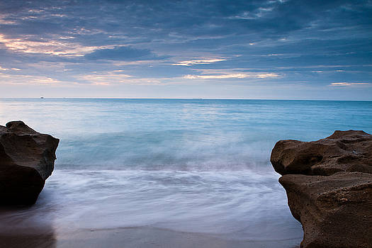 Jupiter Beach by Larry Hughes