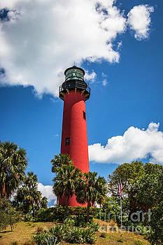 Jupiter Florida Lighthouse by Edie Ann Mendenhall