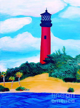 Jupiter Lighthouse by Ashley Baldwin