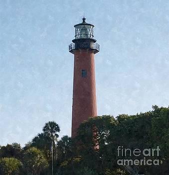 Jupiter Lighthouse by Jennifer Capo