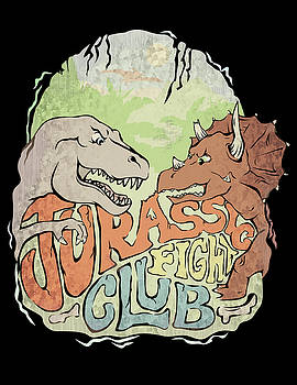 Jurassic Fight Club by Jennifer Kelly