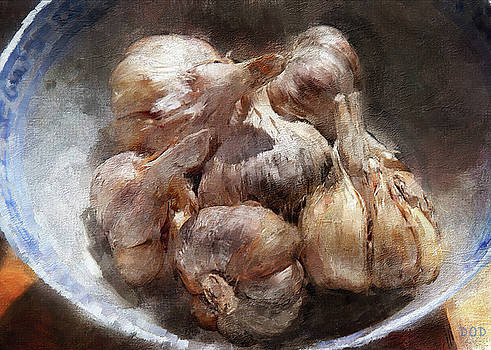Just A Hint Of Garlic by Declan O'Doherty