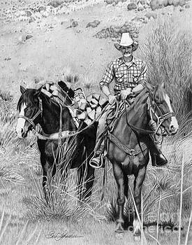 Just Another Western Workday by Barb Schacher