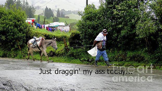 Just Draggin' My Ass Today by Al Bourassa