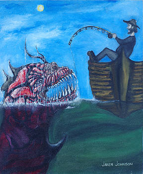 Just Fishing by Jaren Johnson