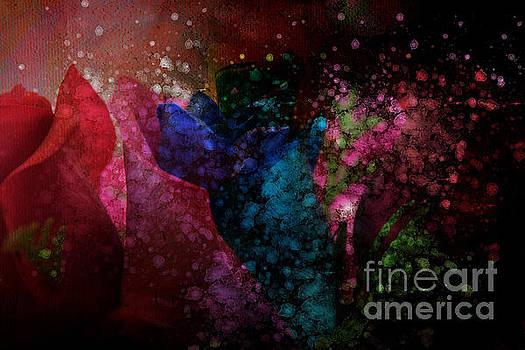Just Flowers by Barbara Dudzinska