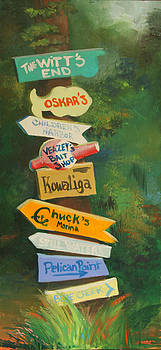 Just Follow the Sign by Jill Holt
