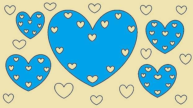 Just Hearts 4 by Linda Velasquez