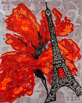 Just Me And You In Paris by Sheila McPhee